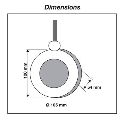 Tm-red Jetly dimensions